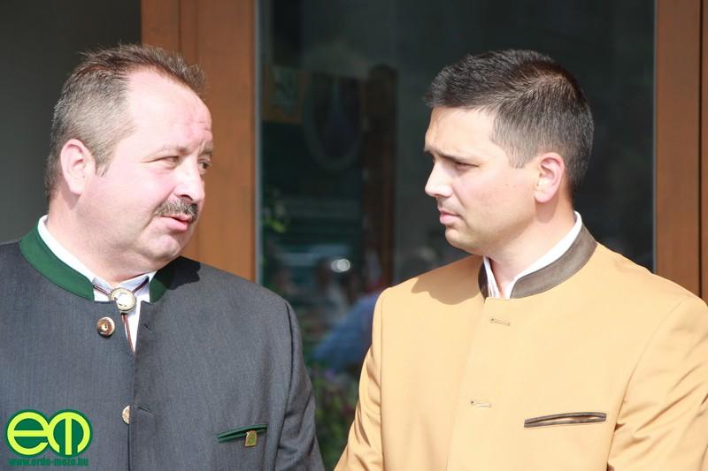 Orbán Tibor vezérigazgató és Bitay Márton Örs államtitkár