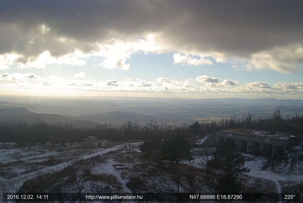 Pillanatkép a Pilis-tetőről - 2016. 12. 02. - 14:11