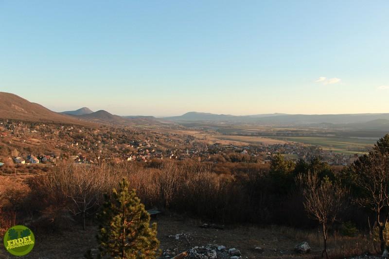 Csodálatos panoráma Pilisszántó felett - Fotó: Gribek Dániel