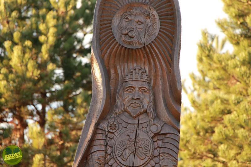 Attila király a Csillagösvényen - Fotó: Gribek Dániel