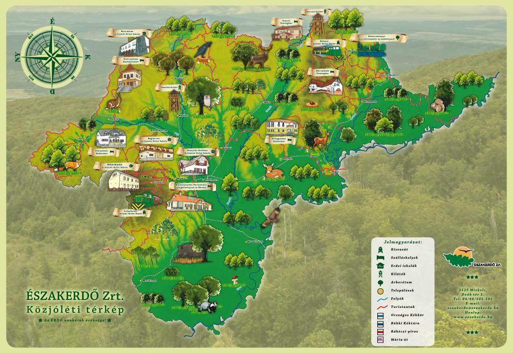 Közjóléti térkép
