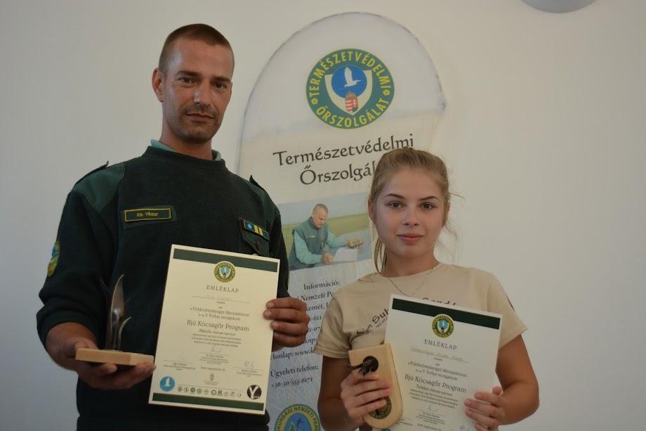 2016. nyertese és mentora (Fotó: KNPI)